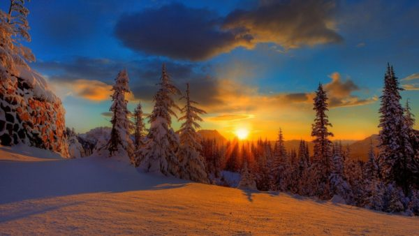 Зима на Драгобраті