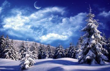 На сніг, на воду, на природу