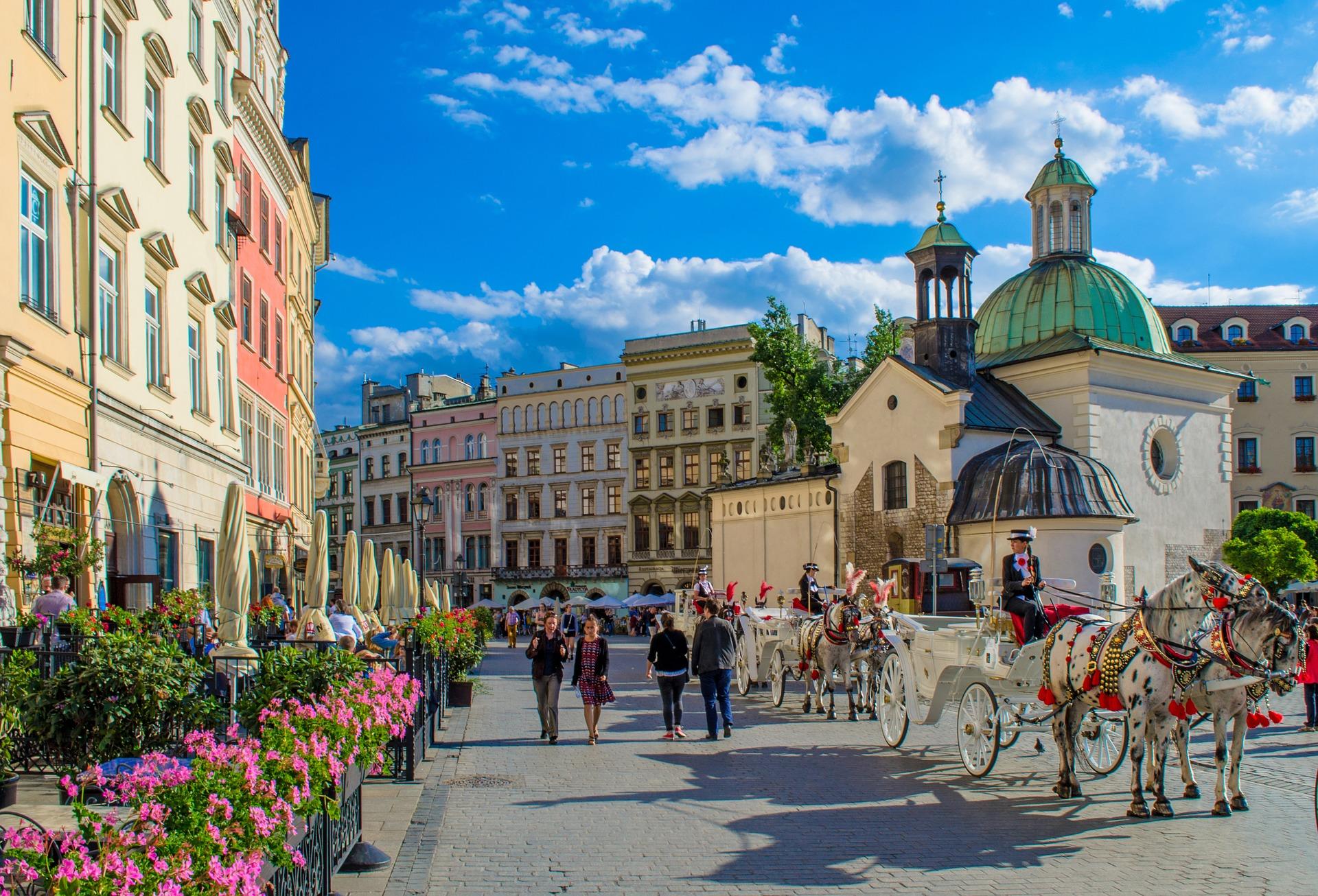 Poland_Krakow_Citycenter