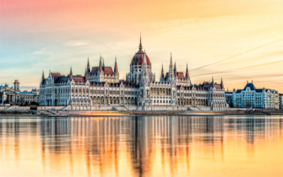 thumb2-budapest-hungarian-parliament-building-evening-sunset-danube-river