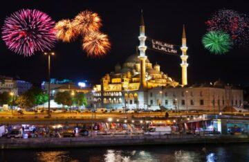 Новий рік у Стамбулі